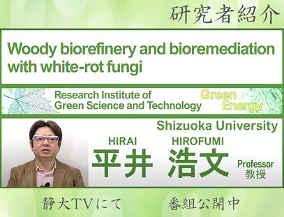 静岡大学グリーン科学技術研究所 研究者紹介 平井浩文 教授